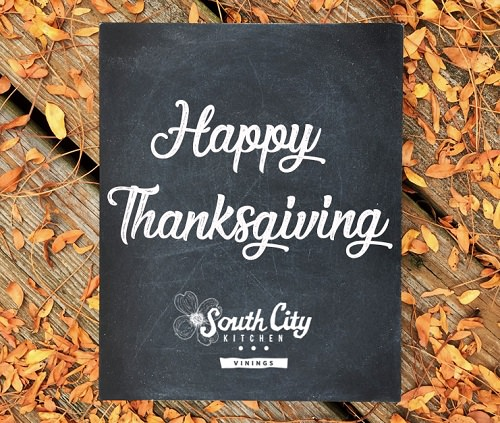 Enjoy Thanksgiving at South City Kitchen
